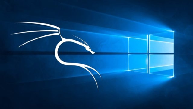Kali Linux on Windows 10